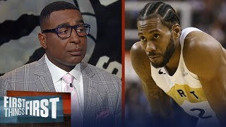 Cris Carter: Kawhi's decisions are based on trust — Raptors have that | NBA | FIRST THINGS FIRST