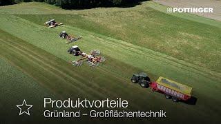 Neues Video: Grünland-Großflächentechnik von PÖTTINGER