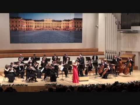 Linda Lampenius and Schoenbrunn Palace Orcherstra in Helsinki