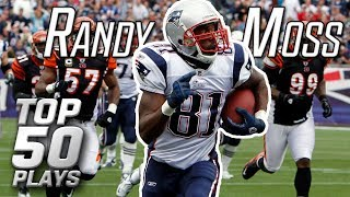 Randy Moss' Top 50 Most Insane Plays of All-Time   NFL Highlights