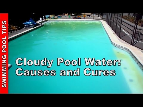 Cloudy Pool Water Causes And Cures Youtube