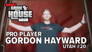Gordon Hayward – HyperX House Tour