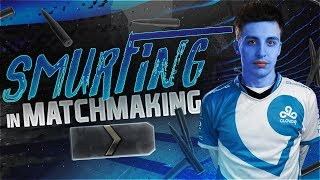 SHROUD SMURFING IN MATCHMAKING