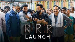 RRR Launch Video - Jr NTR, Ram Charan..