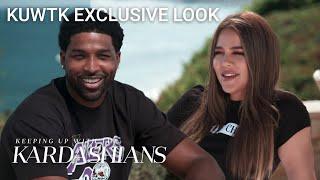 Khloé Kardashian & Tristan Thompson Ready for Baby No. 2 | KUWTK Exclusive Look | E!