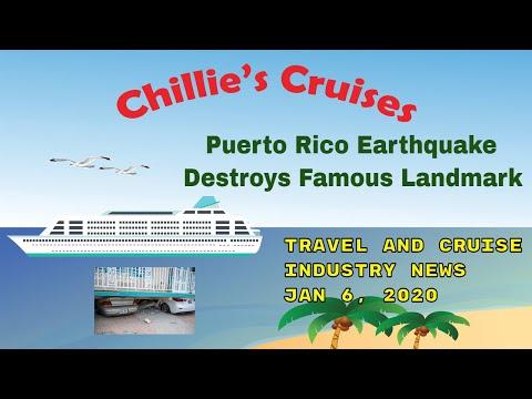 Puerto Rico Earthquake Destroys Famous Landmark