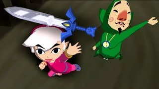 Windwaker but all the items are random