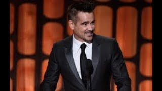 Colin Farrell honors Donald Sutherland at the 2017 Governors Awards