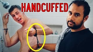 HANDCUFFED to Your Best Friend For 24 HOURS (LAXATIVES Prank Backfired!) | Yes Theory
