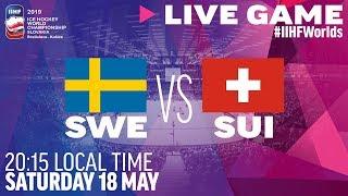 Sweden vs. Switzerland   Full Game   2019 IIHF Ice Hockey World Championship