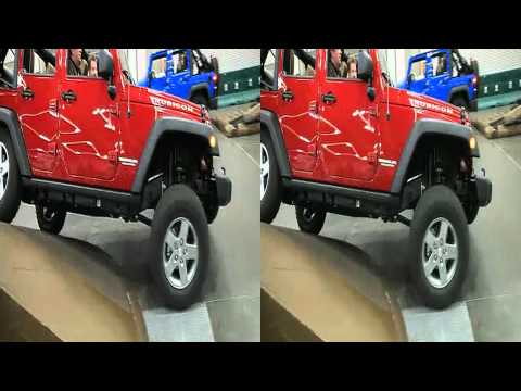 Jeep Wrangler Off-Roads Indoors At The Portland Auto Show