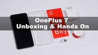 OnePlus 7 Global ROM Version Unboxing & Hands On