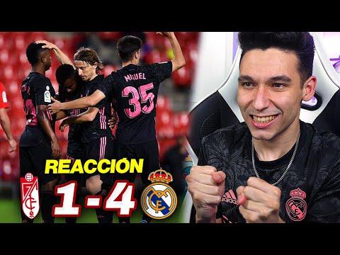 REACCIONES DE UN HINCHA Granada vs Real Madrid 1-4 *SEGUIMOS EN LA LUCHA*