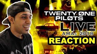 Twenty One Pilots LIVE at the AMAs 2018 | REACTION!