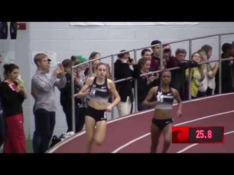 Mary Cain runs 1000m world junior record in 2:39.25
