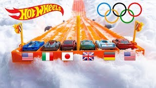 Hot Wheels Winter Olympic Race