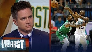 Celtics replacing Kemba for Kyrie is 'better for them' — Chris Mannix | NBA | FIRST THINGS FIRST