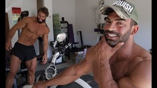 FIRST LEG WORKOUT ft SERGI CONSTANCE