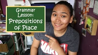 Prepositions of Place - English Grammar - Civil Service Review
