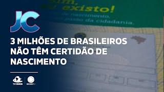 3 milhões de brasileiros não têm certidão de nascimento