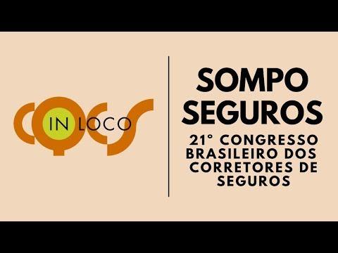 Imagem post: Sompo Seguros no 21º Congresso  Brasileiro dos Corretores de Seguros