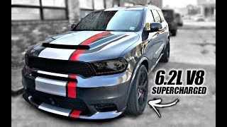 Durango SRT Hellcat - 700+hp!!! INSANE