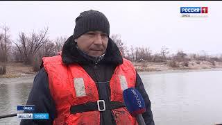 Навигация в Омской области подходит к концу