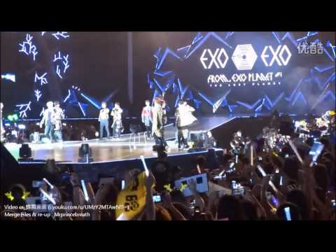 HD [Full Concert] 140614 EXO The Lost Planet in Wuhan (Fancam)
