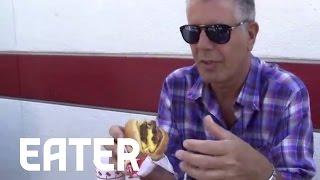Anthony Bourdain on In-N-Out: 'My Favorite Restaurant in LA'