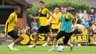 First BVB training session in Bad Ragaz