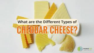 What Are the Different Types of Cheddar Cheese?