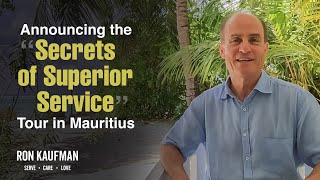 Join Ron Kaufman for