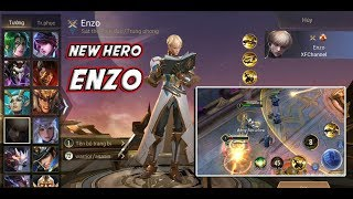 AOV Enzo Gameplay - Arena Of Valor / Lienquan / Strike of kings