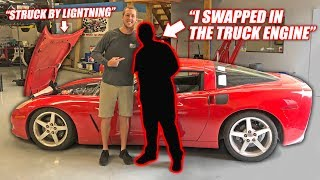 We Found the Auction Corvette's Previous Owner... The Story is INSANE!