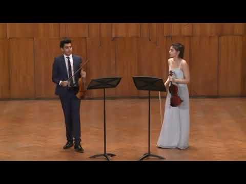 J.M. LECLAIR - Sonata za dve violine op.3, br.5, Allegro ma poco
