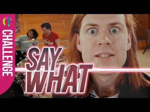 The Amazons | 'Say What' Challenge!