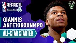 Giannis Antetokounmpo 2019 All-Star Captain | 2018-19 NBA Season