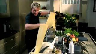 Spinach, Ricotta and Pine nut Ravioli  - Gordon Ramsay