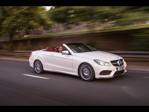 Mercedes Benz E-Class Cabriolet At Sandown Group