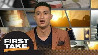 Kyle Kuzma on his rookie season with Lakers, playing with Lonzo Ball, and more | First Take | ESPN