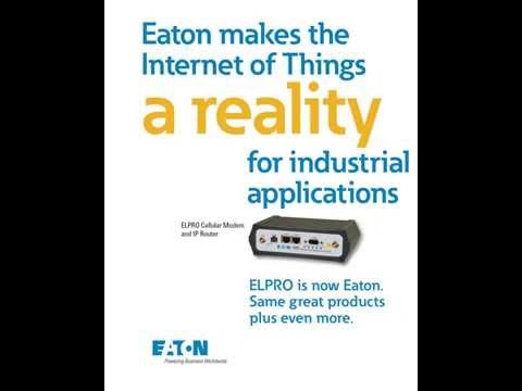 Eaton makes the Internet of Things a reality for industrial applications