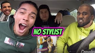 French Montana - No Stylist (ft Drake) KANYE DISS REACTION REVIEW