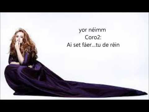 Baixar Adele-Set fire to the rain (pronunciacion)