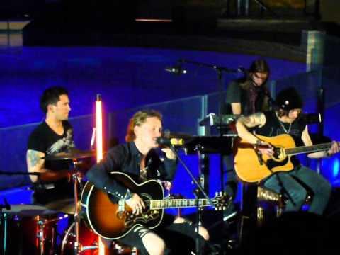 NEGATIVE - End Of The Line (acoustic) [HQ] 26.10.2012. Delfinaario, Särkänniemi