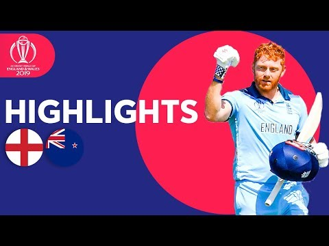 Bairstow Stars Again! | England vs New Zealand - Highlights | ICC Cricket World Cup 2019
