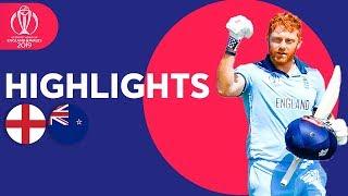 Bairstow Stars Again! | England vs New Zealand - Highlights | ICC Cricket World Cup 2019
