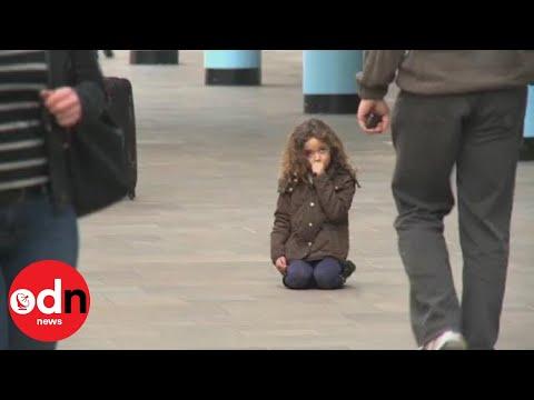 Sigurnosna kamera snimila izgubljenu djevojčicu, a pogledajte ko je prišao pomoći joj!