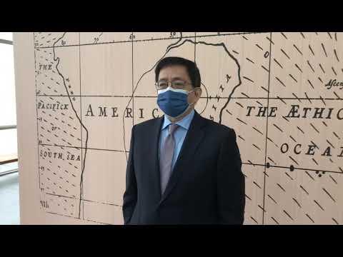 台大校長管中閔宣布不爭取續任