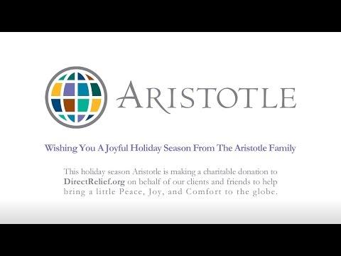 Wishing You A Joyful Holiday Season from the Aristotle Family