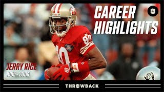 Jerry Rice's G.O.A.T Career Highlights | NFL Legends